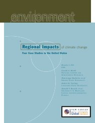 Regional Impacts of climate change - The Pew Charitable Trusts