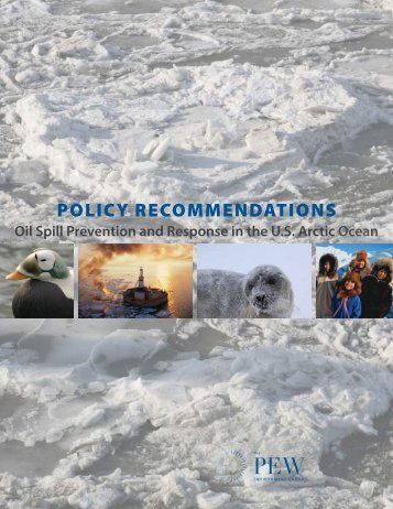 POLICY RECOMMENDATIONS - The Pew Charitable Trusts