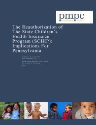 SCHIP - The Pew Charitable Trusts