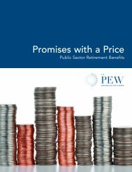 Report: Promises with a Price - The Pew Charitable Trusts