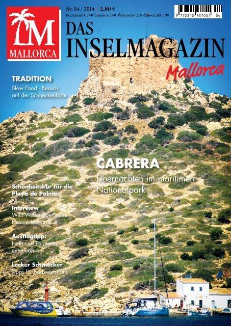 Das Inselmagazin Mallorca Mai/Juni Blick ins Heft