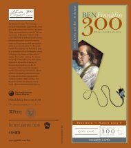 Report: Benjamin Franklin - The Pew Charitable Trusts