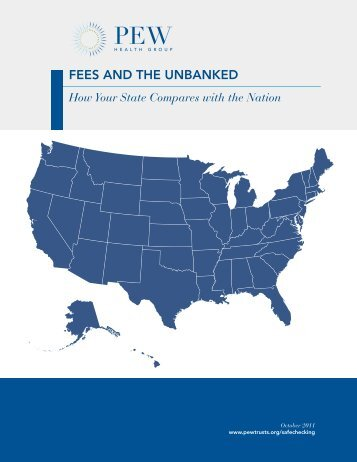 Fees and the Unbanked - Pew Health Initiatives
