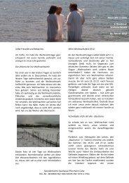 3. Rundbrief von Felix Flachenecker - bei der Seelsorgeeinheit ...