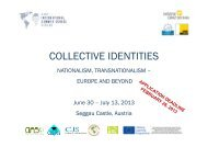 COLLECTIVE IDENTITIES