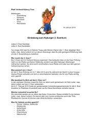 Auschreibung 2.Exer - Pfadi Kyburg Thun