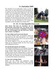 4 x Jurtenfest 2009 - Pfadi Weiach