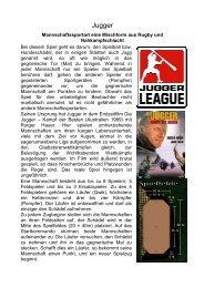 Jugger Spielregel - Pfadi Weiach