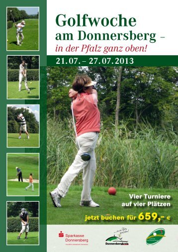Golfwoche - Pfalz