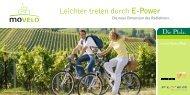 Leichter treten durch E-Power - Pfalz