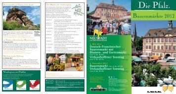 Bauernmarkt - Pfalz