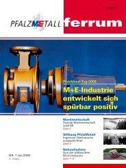 ferrum Ausgabe 7-2008 (599.94 kB) - PfalzMetall