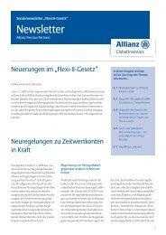 Flexi II Gesetz - PfalzMetall