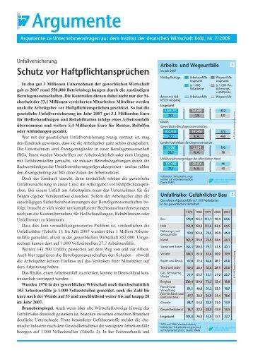 Schutz vor Haftpflichtansprüchen - PfalzMetall