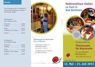 Flyer (PDF, 898 kb) - Pfalzmuseum für Naturkunde