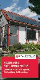 Energie Plus - Pfalzwerke