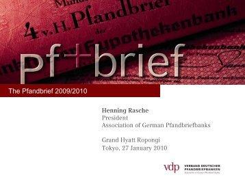 The Pfandbrief 2009/2010
