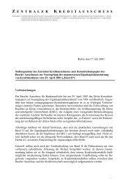 zentralerkreditaussch uss - Verband deutscher Pfandbriefbanken