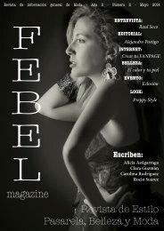 F E B E L Magazine Mayo 2014