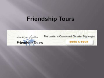 Friendship Tours