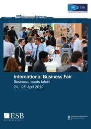 International Business Fair- ESB Business School