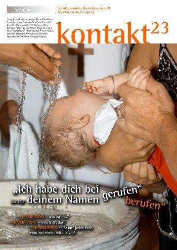 Ausgabe (02/2008) - Erlöserkirche