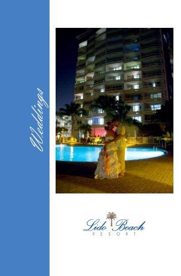 Download Our Wedding Menus & Packages - Lido Beach Resort