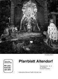 Pfarrblatt Altendorf