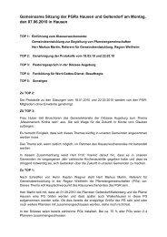 Protokoll vom 7.6.2010 - der Pfarreien Geltendorf - Kaltenberg ...