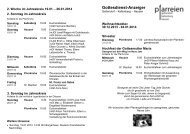 Gottesdienstanzeiger herunterladen - der Pfarreien Geltendorf ...