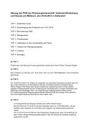 Protokoll vom 25.4.2012 - der Pfarreien Geltendorf - Kaltenberg ...