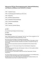 Protokoll vom 24.4.2013 - der Pfarreien Geltendorf - Kaltenberg ...