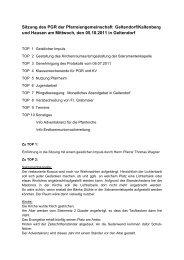 Protokoll vom 5.10.2011 - der Pfarreien Geltendorf - Kaltenberg ...