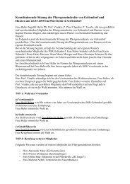 Protokoll vom 22.3.2010 (Konstituierende Sitzung des neuen ...