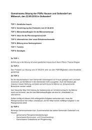 Protokoll vom 22.9.2010 - der Pfarreien Geltendorf - Kaltenberg ...