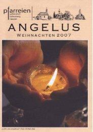 Weihnachten 2007 - der Pfarreien Geltendorf - Kaltenberg - Hausen