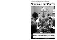 Advent 2007 - Pfarrei Heldmannsberg
