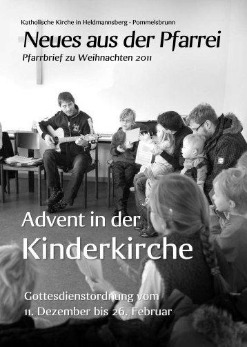 Katholische Kirche in Heldmannsberg • Pommelsbrunn - Pfarrei ...