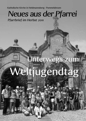 Herbst 2011 - Pfarrei Heldmannsberg