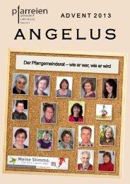 Advent 2013 - der Pfarreien Geltendorf - Kaltenberg - Hausen