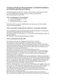 Protokoll vom 15.6.2009 - der Pfarreien Geltendorf - Kaltenberg ...