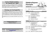 Niederscheyerer Pfarrbote - Pfarrei Scheyern