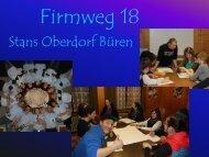 Jugend - Orientierungsabend (pdf 5.5 MB) - Pfarrei Stans