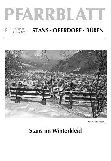 Stans im Winterkleid - Pfarrei Stans