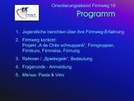 Programm - Pfarrei Stans