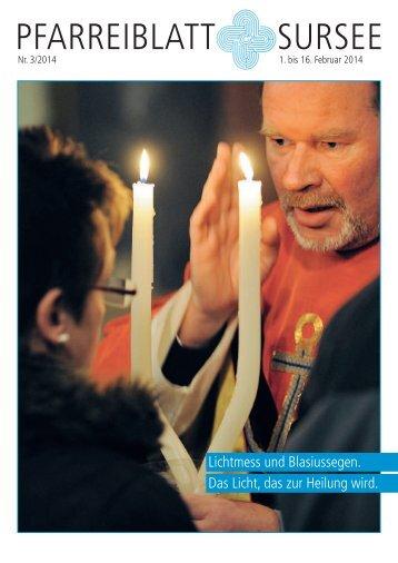 Das aktuelle Pfarreiblatt als PDF downloaden - Katholische ...