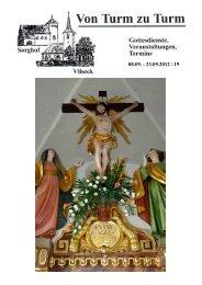 Pfarrbrief 19 - Katholische Pfarrei Vilseck St. Ägidius