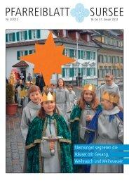 W - Katholische Kirchgemeinde und Pfarrei St. Georg, Sursee