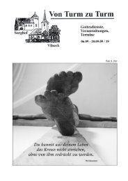 Pfarrbrief 19 4 HP - Katholische Pfarrei Vilseck St. Ägidius