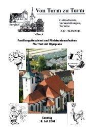 Pfarrbrief 15 HP - Katholische Pfarrei Vilseck St. Ägidius